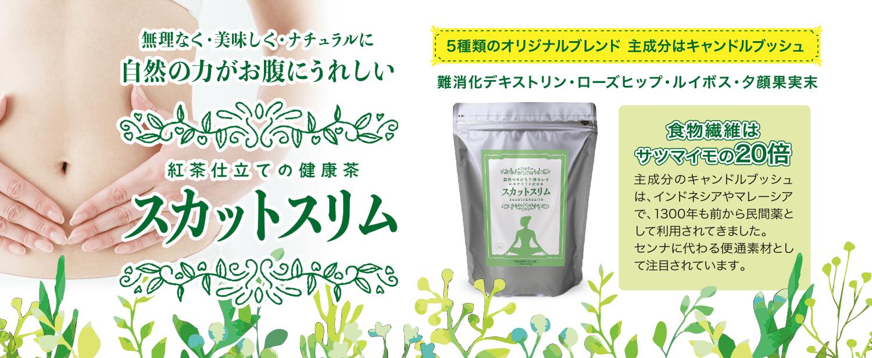 健康茶 スカットスリム